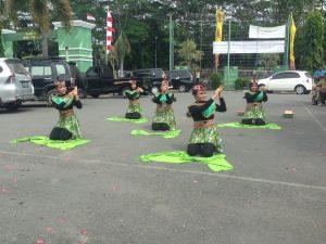 Dance cuci tangan kreasi tim poliklinik rawat jalan yg dipimpin dr spesialis kulit dan kelamin RSUD Kapuas